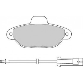Kit plaquettes de frein FERODO code FDB925