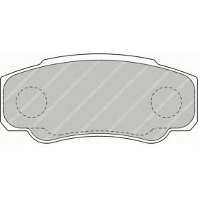 Kit plaquettes de frein FERODO code FVR1480