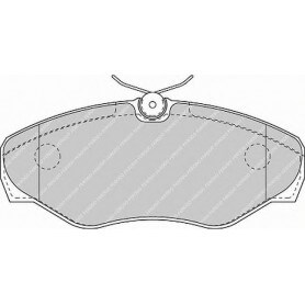 Kit pastiglie freno FERODO codice FVR1515