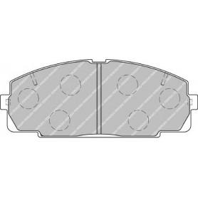 Brake pads kit FERODO code FVR1884