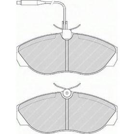Brake pads kit FERODO code FVR967