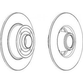 Disco Freno FERODO codice DDF1369C-1