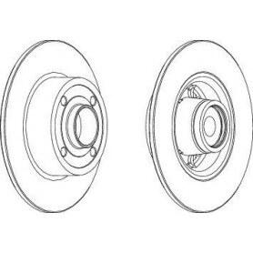 Disco Freno FERODO codice DDF1571-1