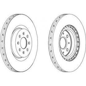 Disco de freno FERODO código DDF1773