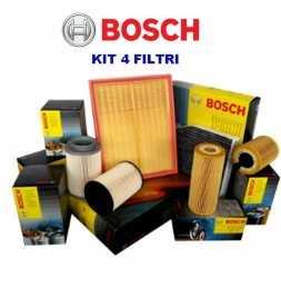 Kit tagliando olio CASTROL EDGE 5W30 8LT+4 FILTRI BOSCH BMW 525D 530D E60