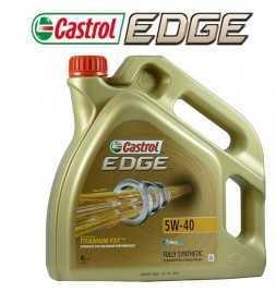 Olio Motore Auto Castrol Edge 5w40 Titanium FST Turbo Diesel - Sintetico 4 Litri