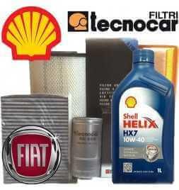 Panda II serie 1.1 1.2 8V 44 KW Kit Cambio olio e Filtri