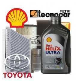 Toyota YARIS 1.0 Kit cambio olio e Filtri