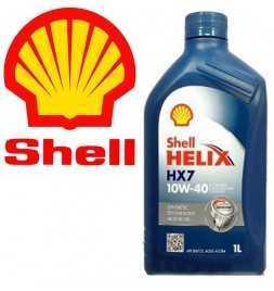 Lubrificante Shell Helix HX7 10W-40 - Latta da 1 Litro