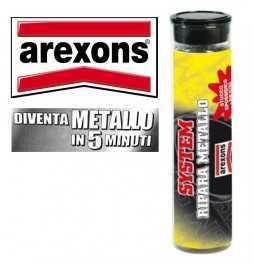 AREXONS 4758 - Ripara Metallo System Adesivo Otturatore Sigillatore Rame Ferro Etc