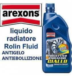 Arexons 8004 - ROLIN ALUSIL Giallo liquido Radiatori Antigelo Antiebollizione 1 LT