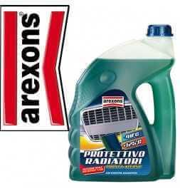 Arexons Liquido Protettivo Radiatore 2lt Rosso Pronto Uso Auto Moto Camion -20°C