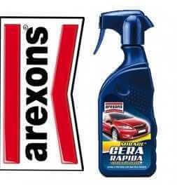 AREXONS 8280 - CERA RAPIDA SPRAY LUCIDA E PROTEGGE LA CARROZZERIA