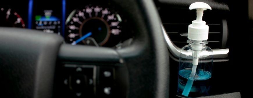 Descubra los productos y equipos para la desinfección del automóvil