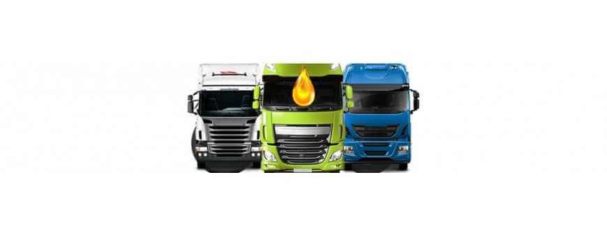 Huile moteur de camion