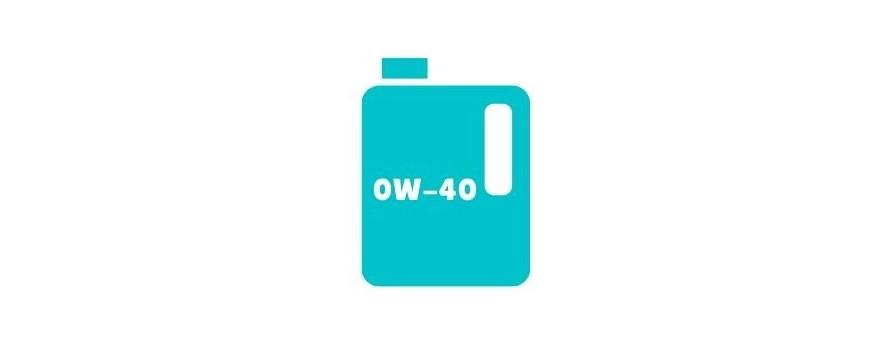 Aceite de motor 0w40 a la venta online tanto diésel como gasolina