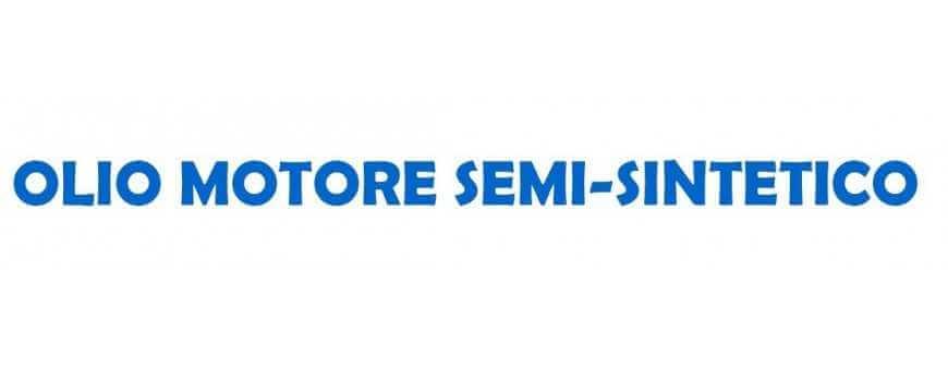 Semi-synthetic motor oil for trucks